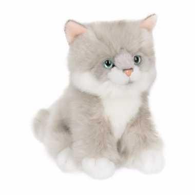 Anna club pluche ragdoll kat/poes knuffel zittend 15 cm