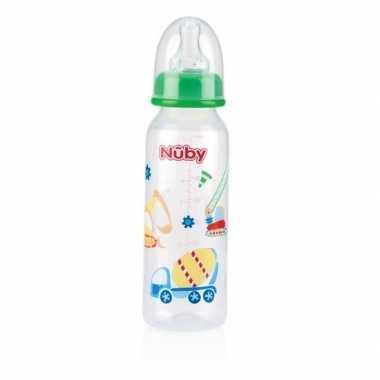 Groene nuby baby drinkfles 240 ml