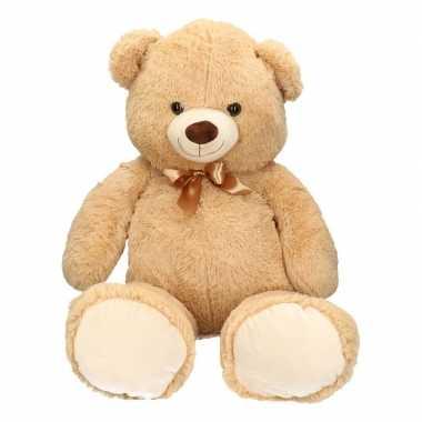 Grote beren knuffel lichtbruin 100 cm