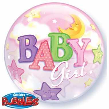 Helium ballon baby girl