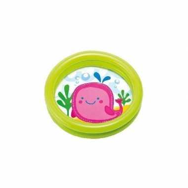 Intex baby/kinder opblaas zwembad paars 61 cm