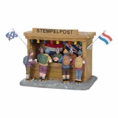 Kerstdorp stempelpost elfstedentocht