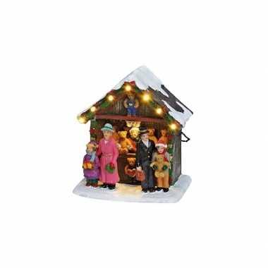Kersthuisje beren kraampje