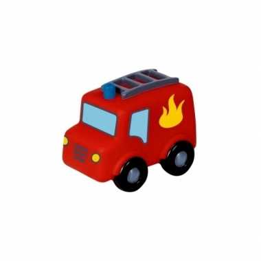 Kinder led nachtlampje brandweerauto