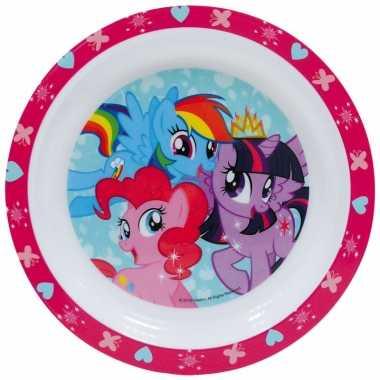 Kinder ontbijtbord my little pony 24 cm
