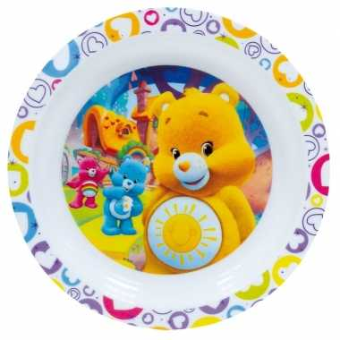 Kinder ontbijtbord troetelbeertjes 22 cm