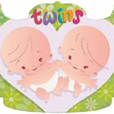 Kroonschild geboorte tweeling