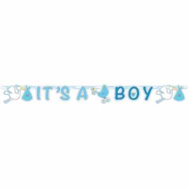 Letterslinger geboorte jongen 170 cm