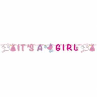 Letterslinger geboorte meisje 170 cm