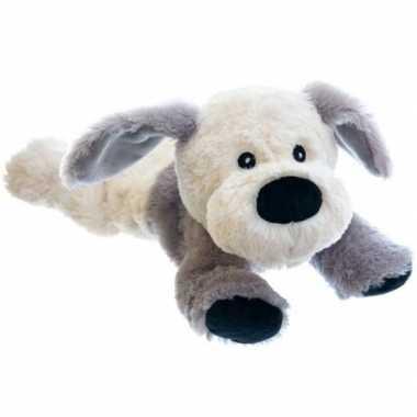 Magnetron warmte knuffel hond puppy 18 cm