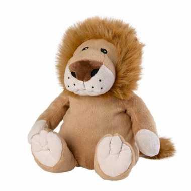 Magnetron warmte knuffel leeuw 30 cm