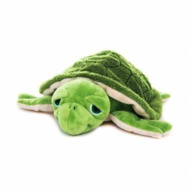 Magnetron warmte knuffel zeeschildpad 18 cm