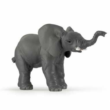 Plastic baby olifant 11 cm