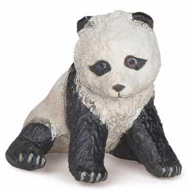 Plastic panda baby 6 cm
