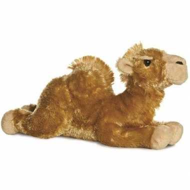 Pluche bruine kameel kamelen knuffel 30 cm speelgoed