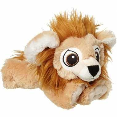 Pluche bruine leeuw knuffel 38 cm baby speelgoed