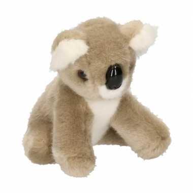 Pluche knuffel baby koala 13 cm