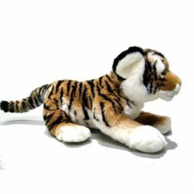 Pluche tijger welp knuffel 30 cm