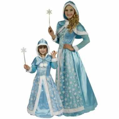 Sneeuwkoninginnen jurk dames