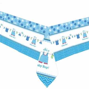 Tafelkleed geboorte jongen
