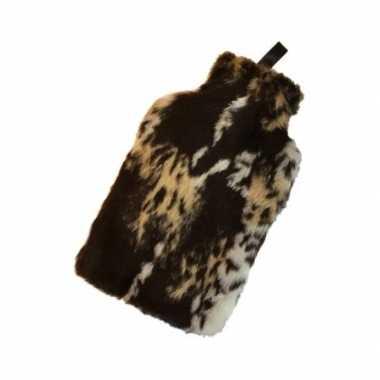 Warm water kruik met hyena hoes