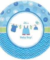 Geboorte jongen bordjes baby boy