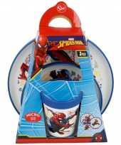 Kinder ontbijt set spiderman